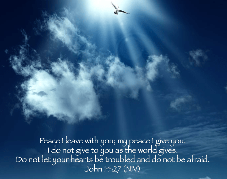 Peace meditation John 14:27